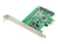 Dawicontrol DC 600e RAID - storage controller (RAID) - SATA 6Gb/s - PCIe 2.0 x1